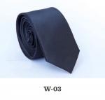 Детский однотонный галстук DW-03