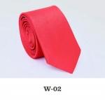 Детский однотонный галстук DW-02