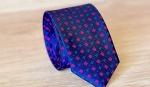 Европейский галстук жаккардовый E-32