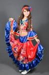 Новогодний костюм Цыганочка цветок
