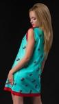 Модное женское платье