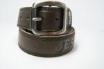 Мужской брендовый ремень цельная кожа 40 мм