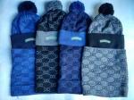 Подростковый комплект -шапка и шарф