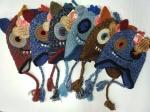 Детские шапки на флисе
