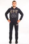 Мужской спортивный костюм трехнитка
