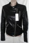 Куртки из кожзама W031