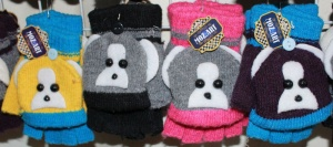 Варежки-перчатки детские C51
