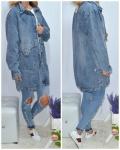 Женские джинсовые кардиганы 342-2