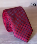 Европейский галстук жаккард E-19