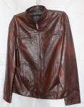 Мужская куртка кожзам батал 168-1A