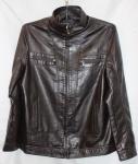 Мужская куртка кожзам 1806-1A