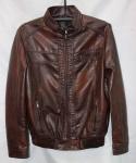 Мужская куртка кожзам 1815-2