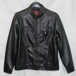 Мужская куртка кожзам 23F-1