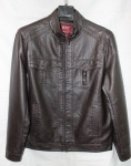 Мужская куртка кожзам 23F-2