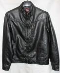 Мужская куртка кожзам 1708F
