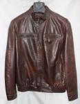 Мужская куртка кожзам 519DF