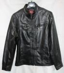 Мужская куртка кожзам 17-3F
