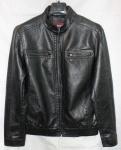 Мужская куртка кожзам 519DF-1