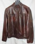 Мужская куртка кожзам 519F-2