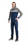 Весенние мужские спортивные костюмы c копюшоном