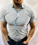 Мужские рубашки с коротким рукавом 2663-3