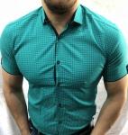 Мужские рубашки с коротким рукавом 2688-1