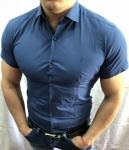 Мужские рубашки с коротким рукавом 2778-4