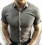 Мужские рубашки с коротким рукавом 2094-1
