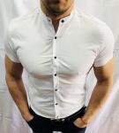 Мужские рубашки с коротким рукавом 2872-2