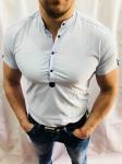 Мужские рубашки с коротким рукавом 2874-2