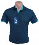 Мужские рубашки с коротким рукавом батал