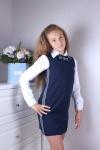 Платье школьное 46030-1