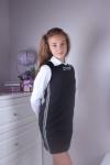Платье школьное 46030