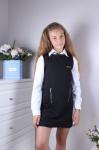Платье школьное 46017-1