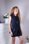 Платье школьное 46033