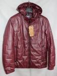 Мужская куртка кожзам 20102-3