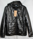 Мужская куртка кожзам 20102-4