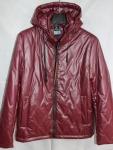 Мужская куртка кожзам 20101-2