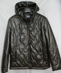 Мужская куртка кожзам 20101-3