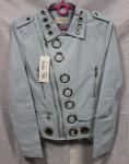 Куртки из кожзама 1721-1