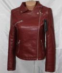 Куртки из кожзама 1728-1