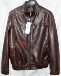 Мужская куртка кожзам 8822-2А-2