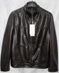 Мужская куртка кожзам 8833-1А-1