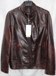Мужская куртка кожзам 8833-1А-2
