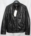 Мужская куртка кожзам 1815-1А-1