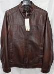 Мужская куртка кожзам 1816-1А-2