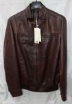 Мужская куртка кожзам 1811-2А-2