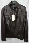 Мужская куртка кожзам 1811-1А-2