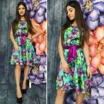 Модные женские платья М450