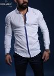 Мужские рубашки длинный рукав RSK-3136